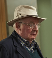 Outnumbered. Frank (Grandad) (David Ryall). Image credit: Hat Trick Productions.