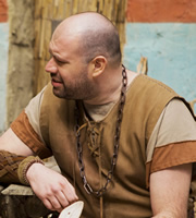 Plebs. Davus (Tom Davis). Image credit: RISE Films.