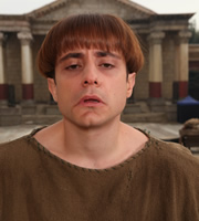 Plebs. Grumio (Ryan Sampson). Image credit: RISE Films.