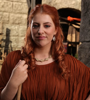 Plebs. Metella (Lydia Rose Bewley). Image credit: RISE Films.