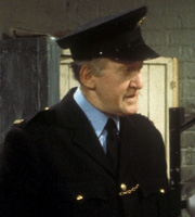 Porridge. Mr. Barrowclough (Brian Wilde). Image credit: British Broadcasting Corporation.