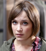 Pramface. Laura Derbyshire (Scarlett Alice Johnson). Copyright: BBC / Little Comet.