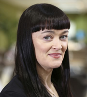 Pramface. Sandra Prince (Bronagh Gallagher). Copyright: BBC / Little Comet.