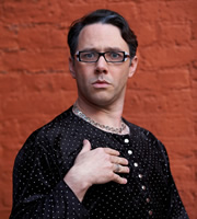 Psychoville. Brian MacMillan (Reece Shearsmith). Image credit: British Broadcasting Corporation.