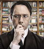 Psychoville. Jeremy Goode (Reece Shearsmith). Image credit: British Broadcasting Corporation.