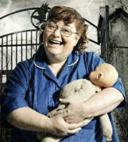 Psychoville. Joy Aston (Dawn French). Image credit: British Broadcasting Corporation.
