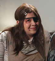 Psychoville. Kelly Su Crabtree (Debbie Chazen). Image credit: British Broadcasting Corporation.