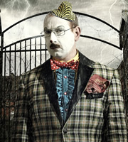 Psychoville. Mr Jolly (Adrian Scarborough). Copyright: BBC.