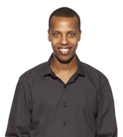 Show Me The Funny. Prince Abdi. Copyright: Big Talk Productions.