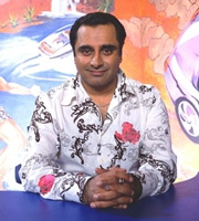 The Kumars At No. 42. Sanjeev Kumar (Sanjeev Bhaskar). Image credit: Hat Trick Productions.