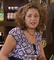 Time Gentlemen Please. Janet (Julia Sawalha). Copyright: Avalon Television.