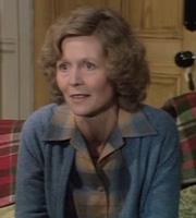 To The Manor Born. Marjory Frobisher (Angela Thorne). Image credit: British Broadcasting Corporation.