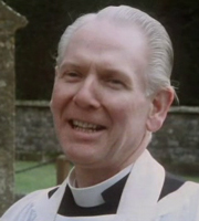 To The Manor Born. The Rector (Gerald Sim). Image credit: British Broadcasting Corporation.