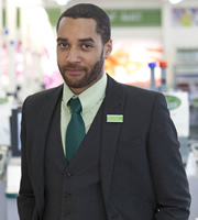 Trollied. Daniel (Samuel Anderson). Copyright: Roughcut Television.