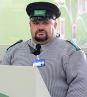 Trollied. Ian (Victor McGuire). Copyright: Roughcut Television.
