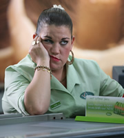 Trollied. Lisa (Beverly Rudd). Image credit: Roughcut Television.