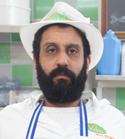 Trollied. Ray (Adeel Akhtar). Copyright: Roughcut Television.
