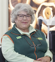 Trollied. Rose (Miriam Margolyes). Image credit: Roughcut Television.