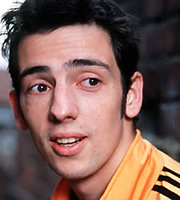 Two Pints Of Lager And A Packet Of Crisps. Jonny (Ralf Little). Copyright: BBC.