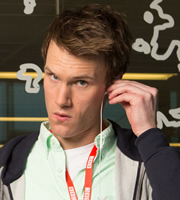 W1A. Will Humphries (Hugh Skinner). Copyright: BBC.