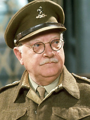 Image result for DAD'S ARMY - arthur lowe