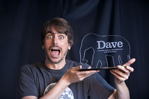 Dave's Joke Of The Fringe 2015. Darren Walsh.