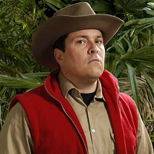 Dom Joly on I'm A Celebrity Get Me Out Of Here. Dom Joly.