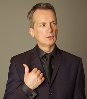 Frank Skinner's Opinionated. Frank Skinner. Image credit: Avalon Television.