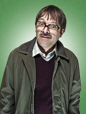 Friday Night Dinner. Jim (Mark Heap). Image credit: Popper Pictures.