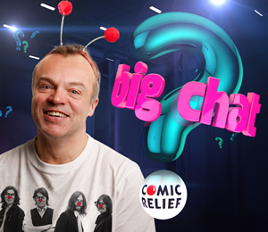 Comic Relief's Big Chat with Graham Norton. Graham Norton.