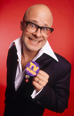 Harry Hill's TV Burp. Harry Hill. Image credit: Avalon Television.