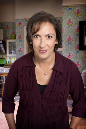 Miranda. Miranda (Miranda Hart). Image credit: British Broadcasting Corporation.
