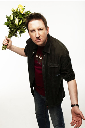 Not Going Out. Lee (Lee Mack). Image credit: Avalon Television.