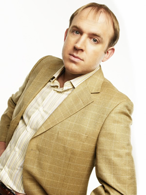 Not Going Out. Tim (Tim Vine). Image credit: Avalon Television.