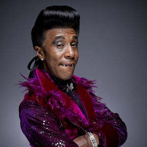 Red Dwarf. Cat (Danny John-Jules). Image credit: Grant Naylor Productions.