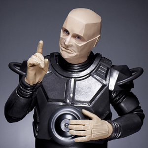 Red Dwarf. Kryten (Robert Llewellyn). Image credit: Grant Naylor Productions.