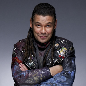 Red Dwarf. Lister (Craig Charles). Image credit: Grant Naylor Productions.