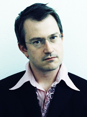 Serious About Comedy. Robin Ince. Copyright: BBC.