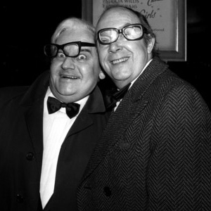 Image shows from L to R: Ronnie Barker, Eric Morecambe.