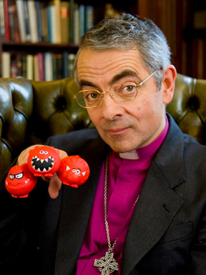 Red Nose Day 2013. Rowan Atkinson.