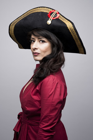 Shappi Khorsandi. Copyright: Matt Crockett.