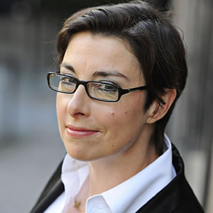 Sue Perkins. Image credit: BBC.