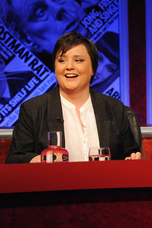 Have I Got News For You. Susan Calman. Copyright: BBC / Hat Trick Productions.