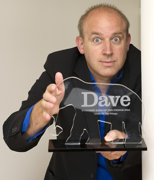 Dave's Funniest Joke of the Fringe 2014. Tim Vine.