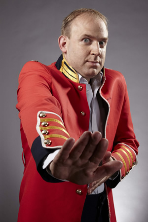 Dave's One Night Stand. Tim Vine. Image credit: Amigo Television.
