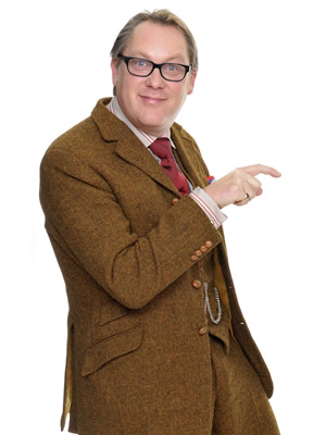 Shooting Stars. Vic Reeves. Copyright: Channel X / Pett Productions.