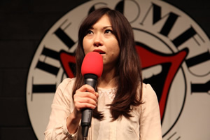 BBC New Comedy Award. Yuriko Kotani. Copyright: BBC.
