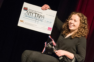 Amy Trigg wins Colchester New Comedian of the Year 2016