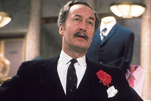 Are You Being Served?. Captain Stephen Peacock (Frank Thornton). Copyright: BBC.