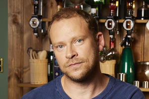 Back. Andrew (Robert Webb).